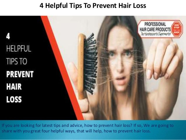 how to prevent hair