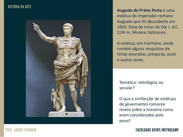 O gigante Hércules. Bronze. Séc. I d.C. Museus Vaticanos. Decência moral ou ignorância? Em meados do século 18 o papa Clem...