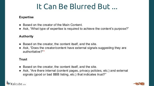 Jason Barnard — Structuring, Visualizing and Evaluating Your E-A-T Slide 3