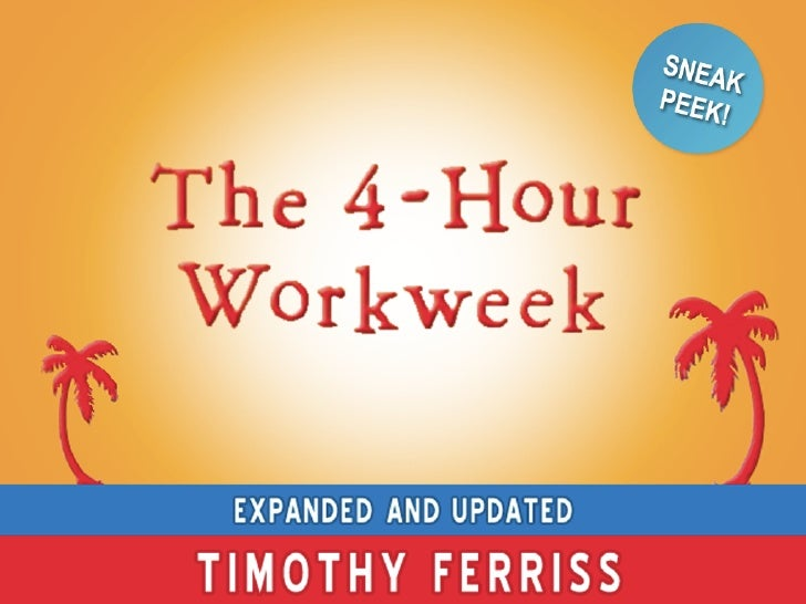 Preview: The NEW 4-Hour Workweek