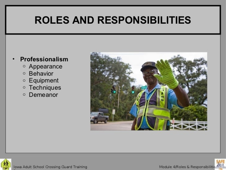 role and responsibility of school safety School uniforms, dress codes & book bags national school safety and security services receives a number of inquiries regarding the issue of school uniforms , dress codes, book bag control, and their role in improving school safety and security.