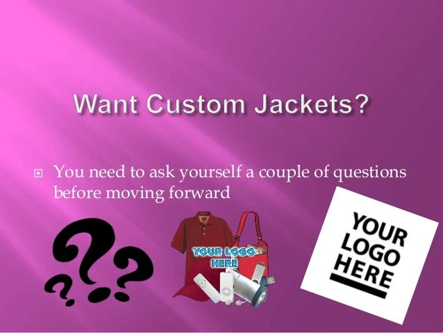 4 Important Tips For Buying Promotional Jackets Slide 2