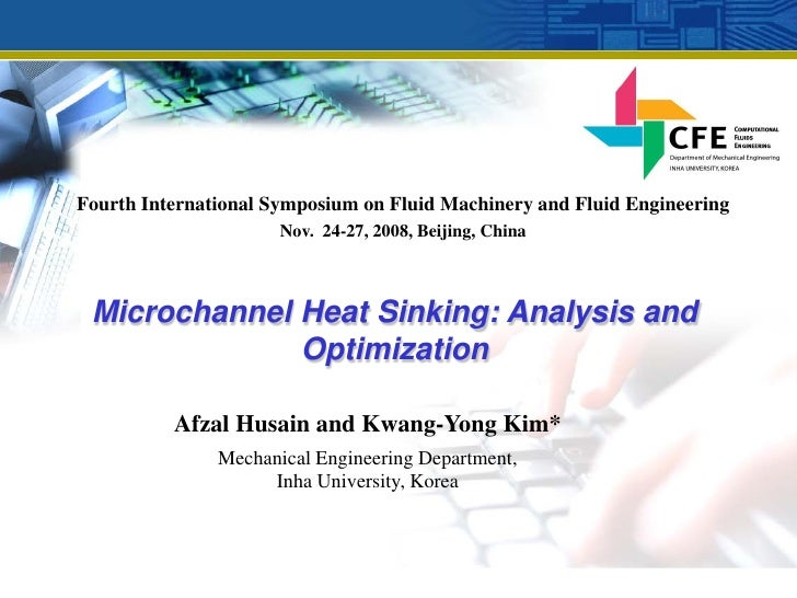 Fourth International Symposium on Fluid Machinery and Fluid Engineering                       Nov. 24-27, 2008, Beijing, C...