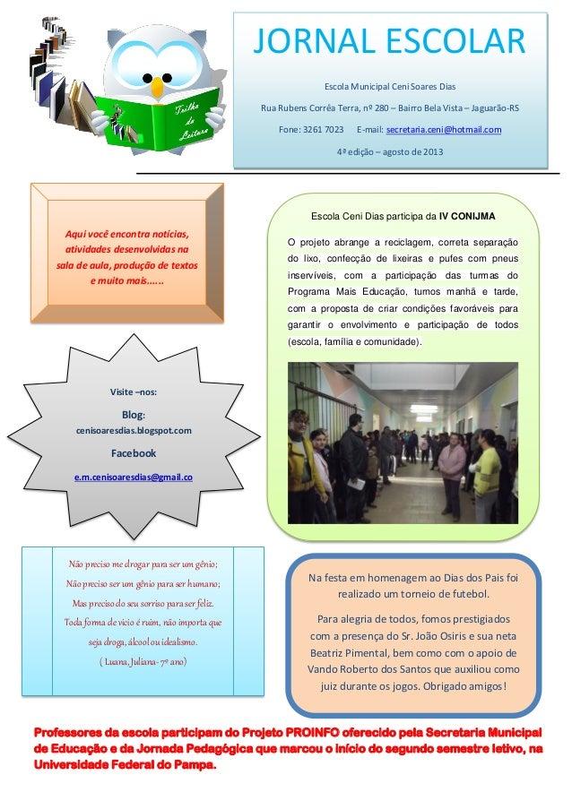 Professores da escola participam do Projeto PROINFO oferecido pela Secretaria Municipal de Educação e da Jornada Pedagógic...