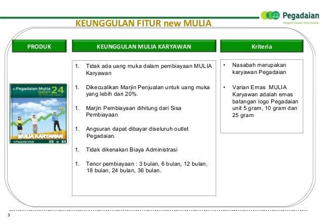4 Juni Presentasi Literasi Produk Fitur Mulia 030614