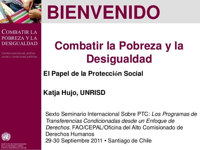 Combatir la pobreza y la desigualdad el papel de la protecci n social - Como combatir la condensacion ...