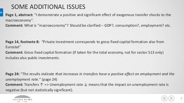 A paper on the effects of government cutbacks
