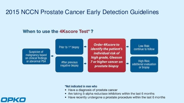 the 4kscore® blood test for risk of aggressive prostate cancerprostate cancer early detection; 4