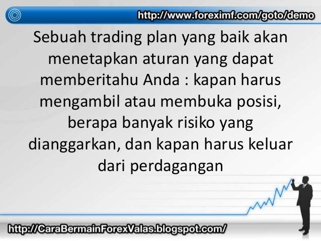 Kunci sukses trader forex