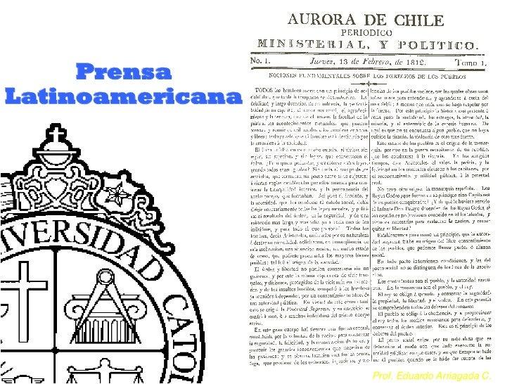 PrensaLatinoamericana                  Prof. Eduardo Arriagada C.