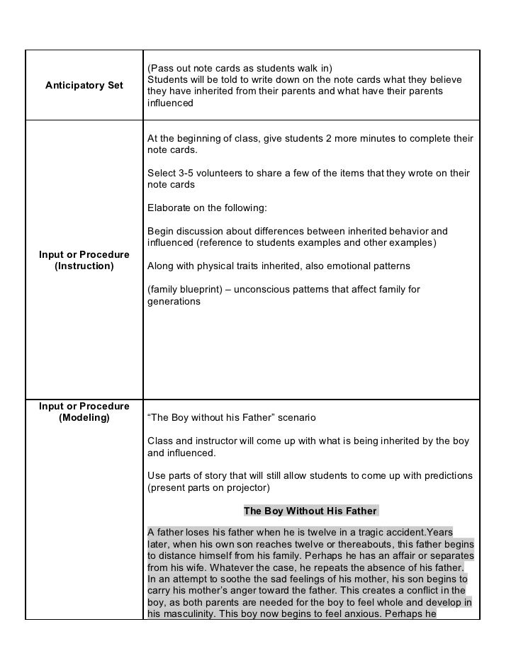 Unit Four Lesson Plan Slide 2