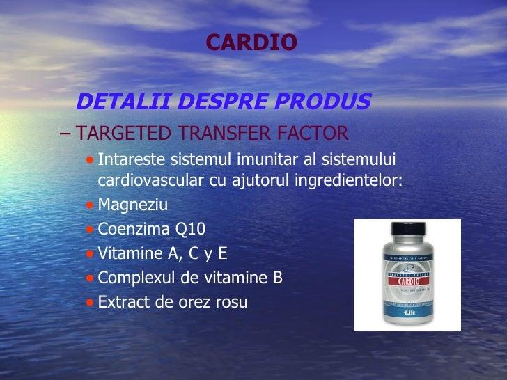 DETALII DESPRE PRODUS <ul><ul><li>TARGETED TRANSFER FACTOR </li></ul></ul><ul><ul><ul><li>Intareste sistemul imunitar al s...