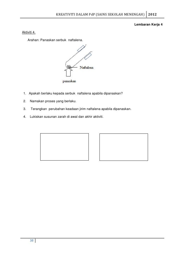 Modul pembelajaran kreatif sains awal aktiviti akhir aktiviti 34 32 ccuart Image collections
