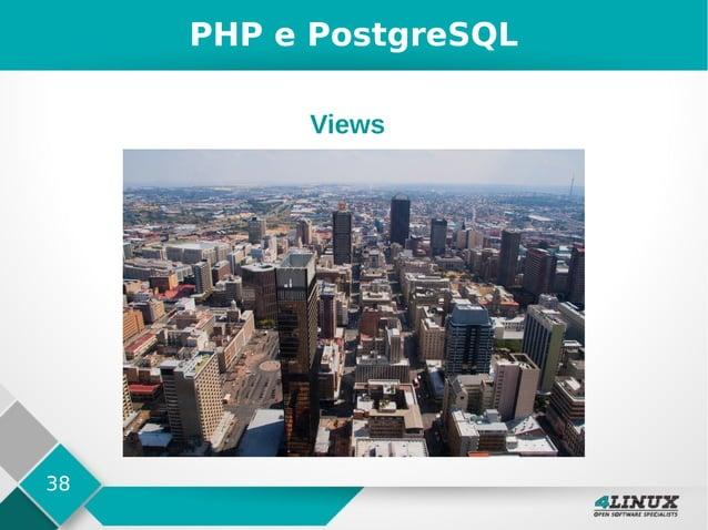 38 PHP e PostgreSQL Views