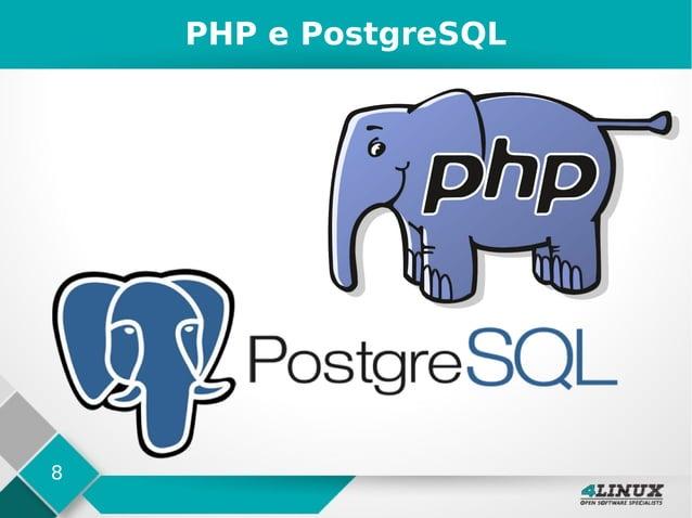 8 PHP e PostgreSQL