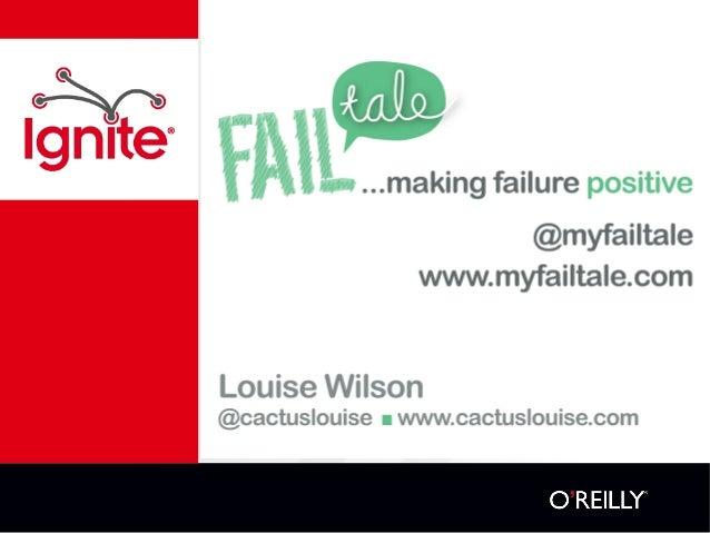 Louise Wilson myfailtale