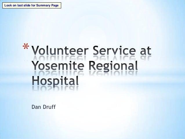 Dan Druff*Look on last slide for Summary Page