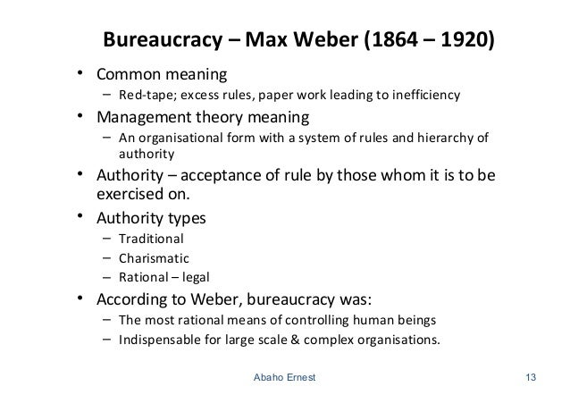 max weber charismatic authority