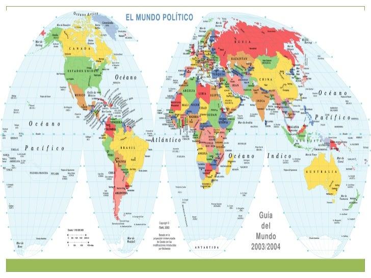 4 mapas mundo