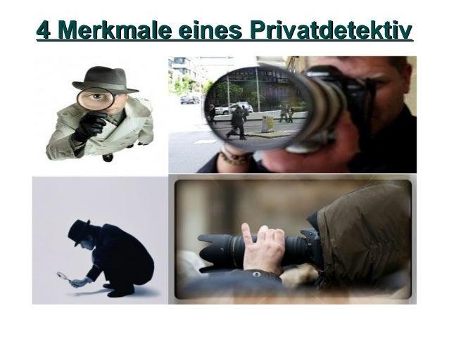 4 Merkmale eines Privatdetektiv4 Merkmale eines Privatdetektiv