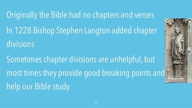 Bible Study Methods by Chapter: How to Study a Whole ...