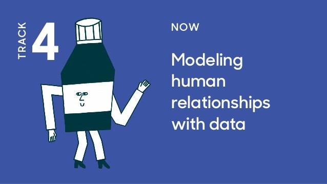 4 TRACK NOW Modeling human relationships with data