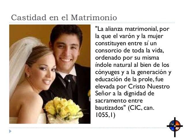 Resultado de imagen para Castidad y matrimonio