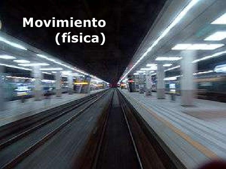 Movimiento(física)<br />