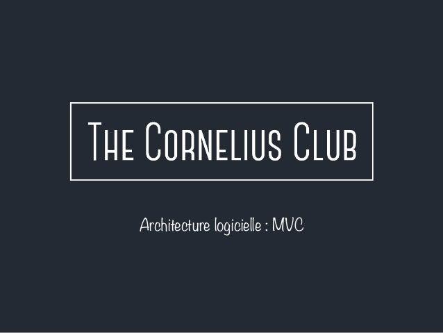Architecture logicielle : MVC