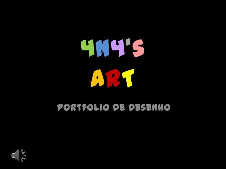 4N4's     ARTPortfolio de Desenho
