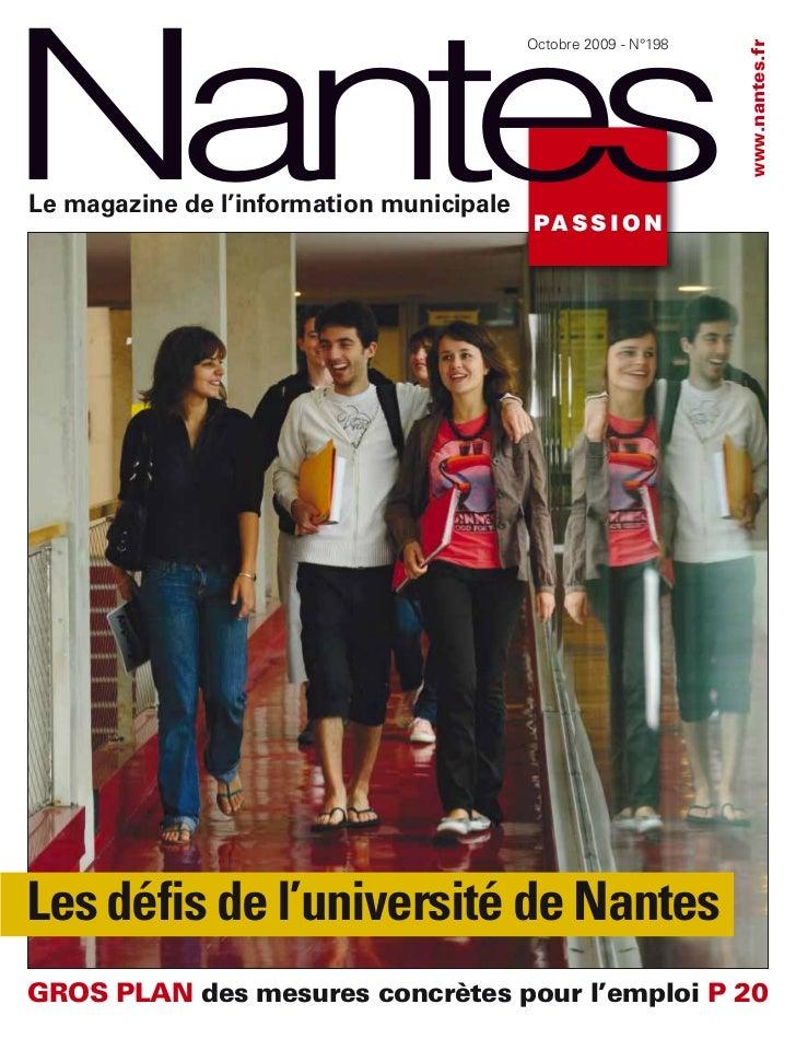 Nantes                                          Octobre 2009 - N°198                                                      ...