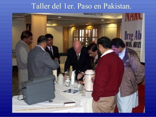Taller del 1er. Paso en Pakistan.