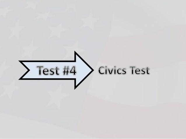4 Naturalization Test