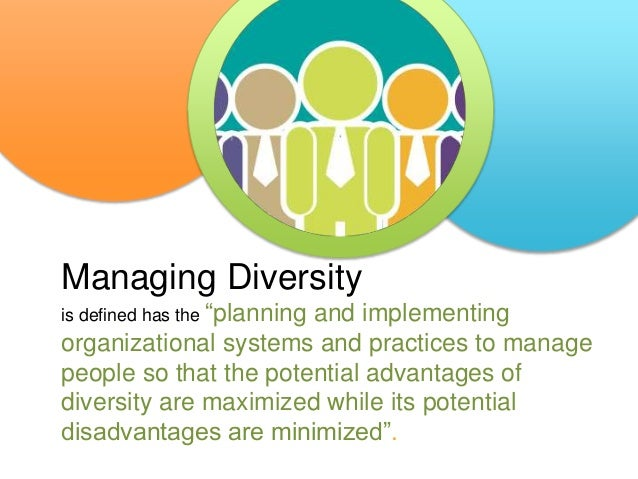 Managing Diversity In The Workplace Hrm