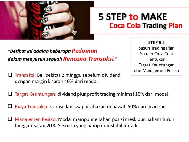 One Click Trading On Cfd Coca Cola