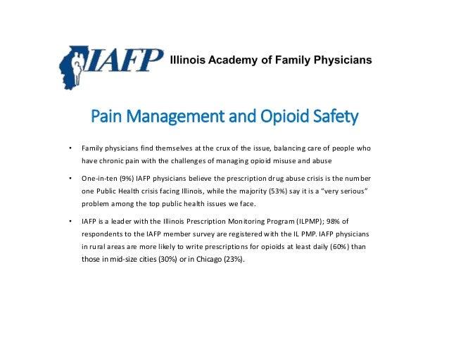Prescription Drug Abuse: A Chapter Focus