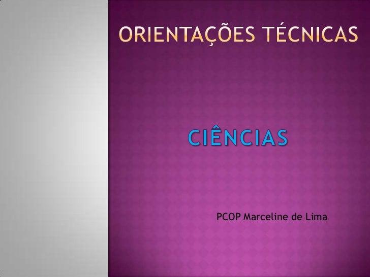 PCOP Marceline de Lima