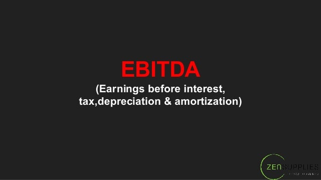 """EBITDA (is important when you need to sell your practice) *please read """"Build to Sell"""""""