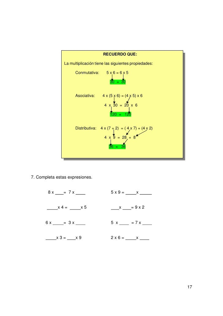 8. Calcula de la forma más rápida.  2 x (8 + 4) =  4 x ( 9 + 5)=  (9 + 5) x 8 =  5 x (7 + 3) =  8 x (9 + 5) =  (7 + 2) x 6...
