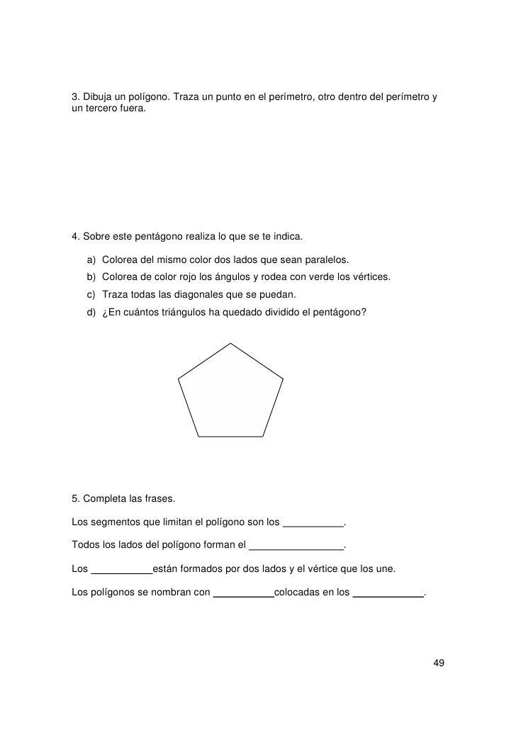 RECUERDO QUE:        El nombre de los polígonos depende del número de lados.        Los triángulos son polígonos que tiene...