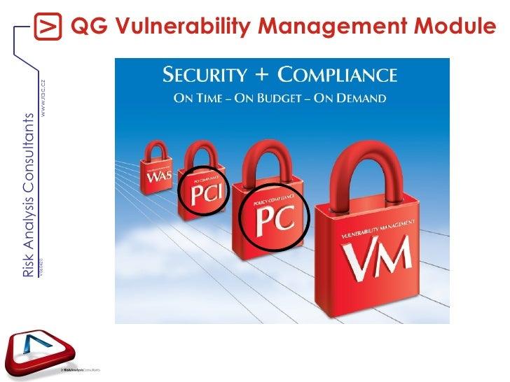 QG Vulnerability Management Module