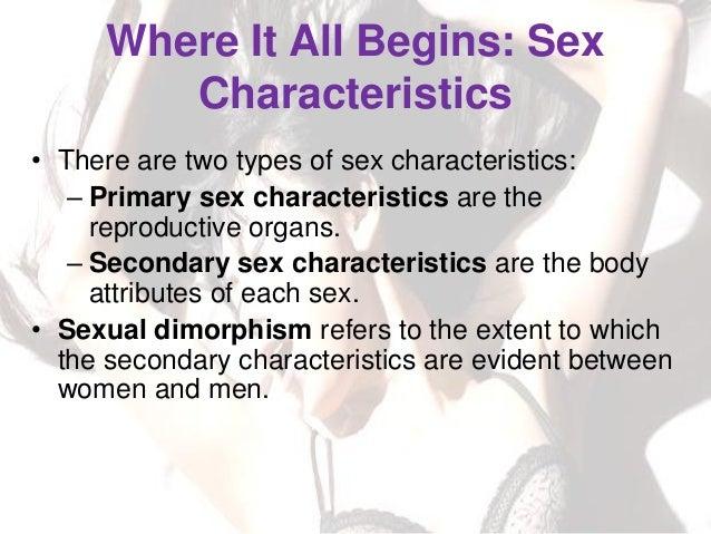 Between female male sex