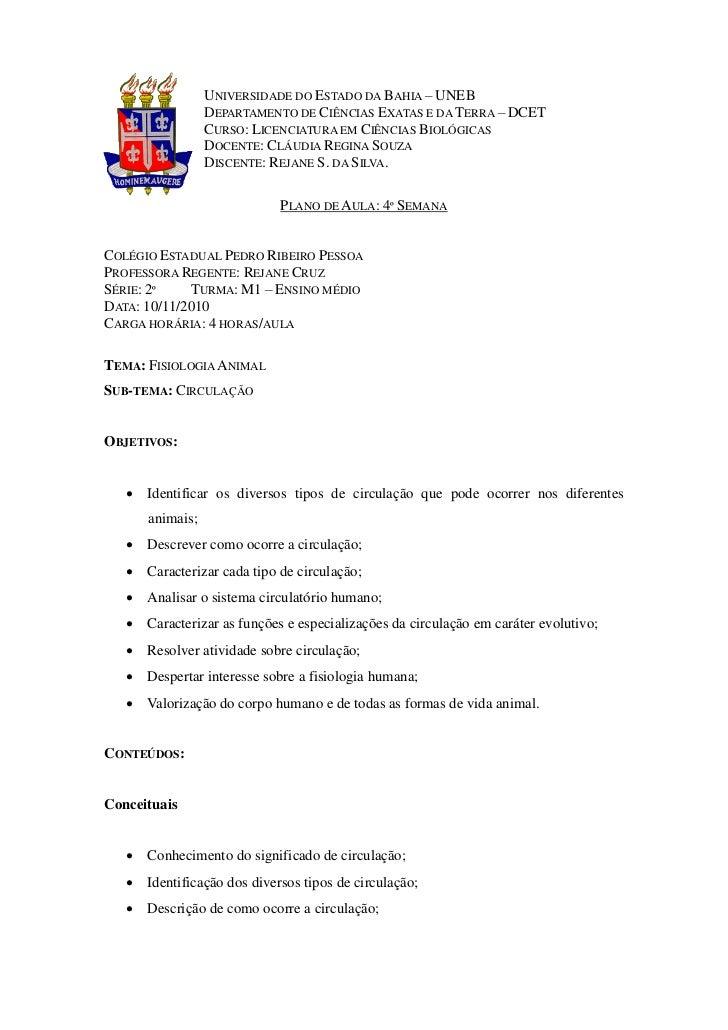 UNIVERSIDADE DO ESTADO DA BAHIA – UNEB                 DEPARTAMENTO DE CIÊNCIAS EXATAS E DA TERRA – DCET                 C...