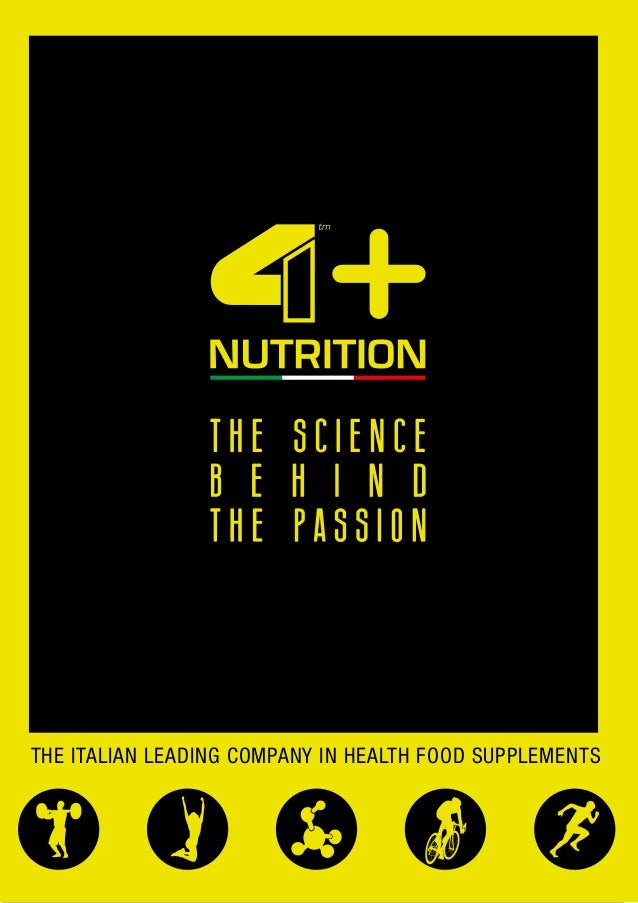 THE ITALIAN LEADING COMPANY IN HEALTH FOOD SUPPLEMENTS
