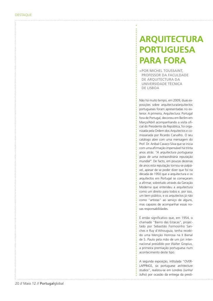 DESTAQUE                                  ARQUITECTURA                                  PORTUGUESA                        ...