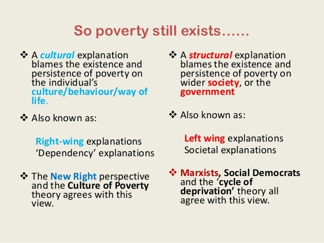 Culture Of Poverty Essay