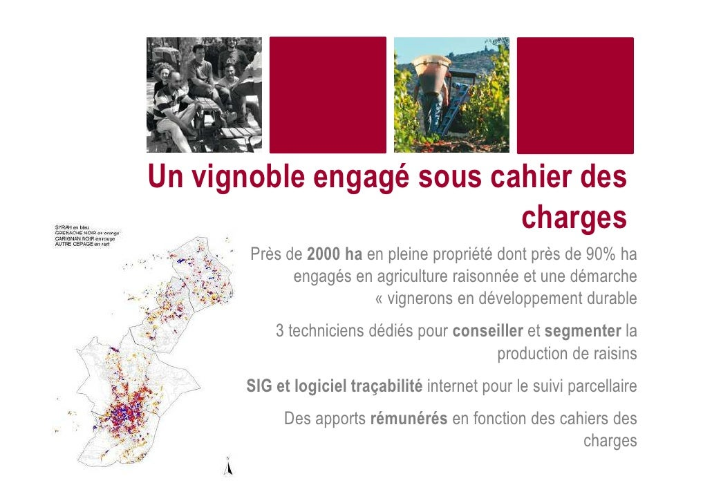 Oenoview pour caractérises le profil vignes et segmenter les apports Slide 3