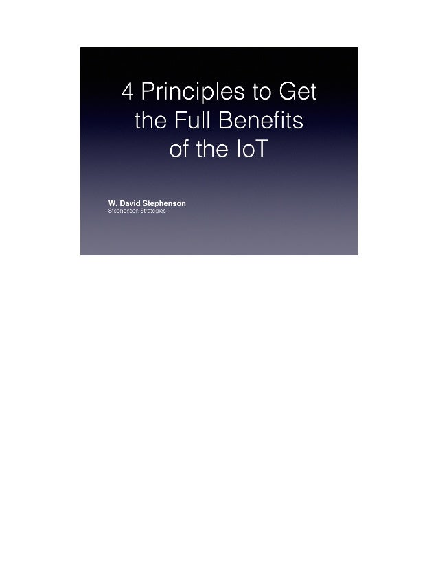I get excited as the next guy at the incredibly cool new devices and services made possible by the IoT — particularly love...