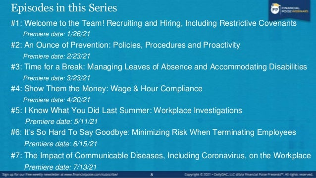 Episode #4 Show Them the Money: Wage & Hour Compliance 9