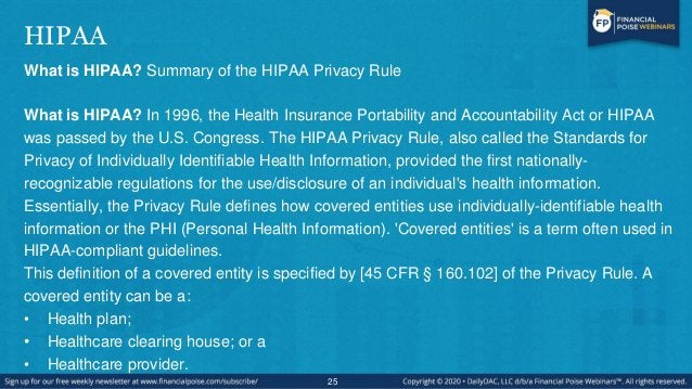 If I Run a HIPAA-Covered Business, Does the COVID-19 Coronavirus Emergency Supersede HIPAA Privacy Rules? • No, the govern...